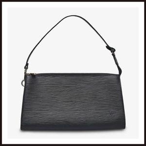 Louis Vuitton Epi Pochette Black AR0936 Price Firm